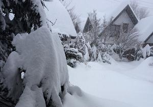 軽井沢の冬