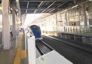 新幹線あさまで軽井沢へ
